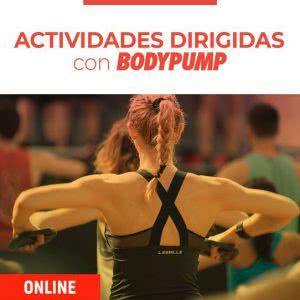 Actividades dirigidas con Body Pump online