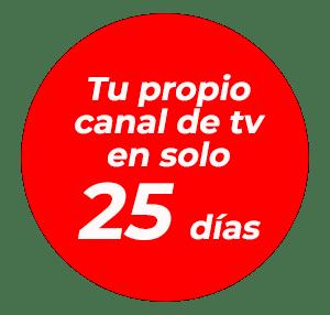 Tendrás tu canal ESHI TV en tan solo 25 días