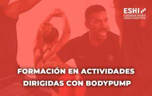 Formación en Actividades Dirigidas con BodyPump