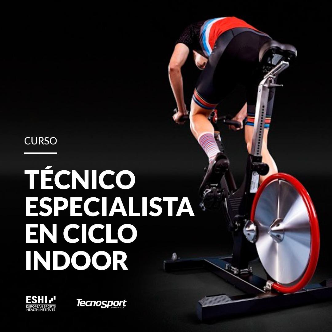 Técnico especialista en ciclo indoor   Barcelona – 05/03/22