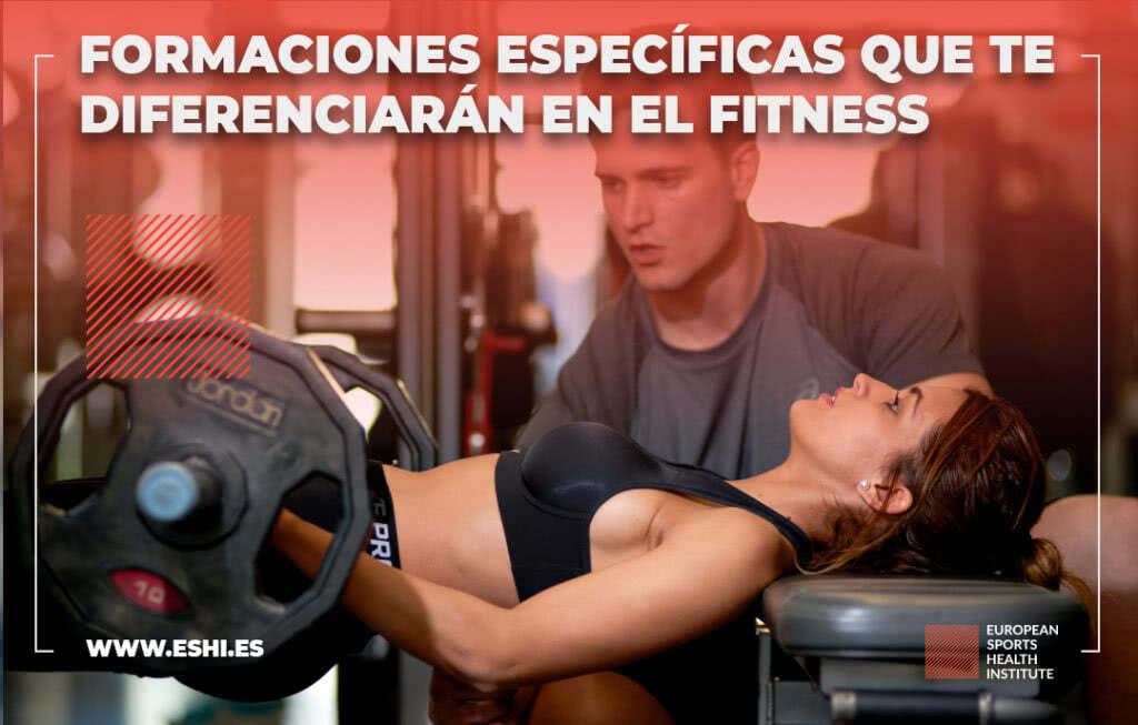 Formaciones especificas fitness